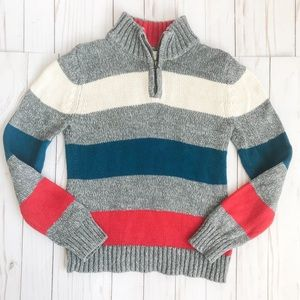 Land's End 1/4 zip pullover sweater size 7 EUC